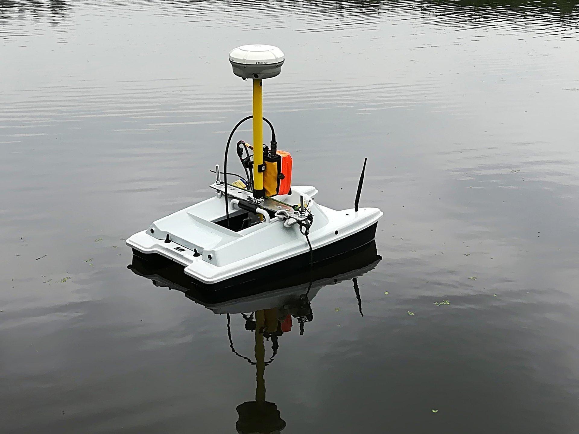Survey-peilboot-hydrography