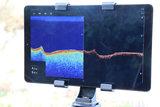 Raymarine Dragonfly 5 Pro, Downscan en Sonar baitboat edition  _