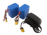 Intelligent Power Li-ion (2 stuks) 7.4 Volt 6600mAh _