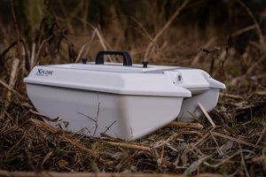 Xplore baitboat MKII, white edition