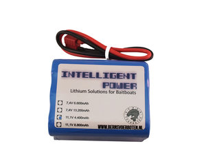 Intelligent Power Lithium-ion accu 11,1 Volt 4.400mAh, voor Toslon