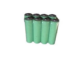 8 stuks, Oplaadbare batterijen met groot vermogen Ni-MH AA  2500mAH