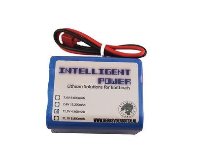 Intelligent Power Lithium-ion accu 11,1 Volt 4.400mAh