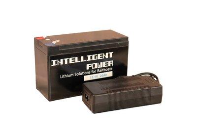 Intelligent Power Lithium-ion (voerboot) accu 11,1 Volt 20Ah, inclusief 3A lader